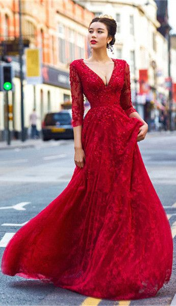 22 best ☆Lace Prom Dresses☆ images on Pinterest