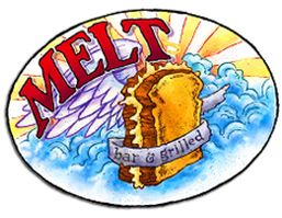 Melt opened in September 2006 with one goal: To provide gourmet grilled cheese sandwiches and as many beers as possible in a cool and comfortable environment. No bar food. No boring choices on tap. And something for everyone: it's Cleveland-friendly, slightly kitschy, and memorable. It's relaxing, energetic, and fun. The menu has many staples, but it's always changing.