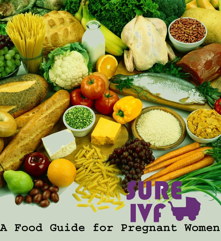 A food guide for pregnant women-Best IVF Treatment India