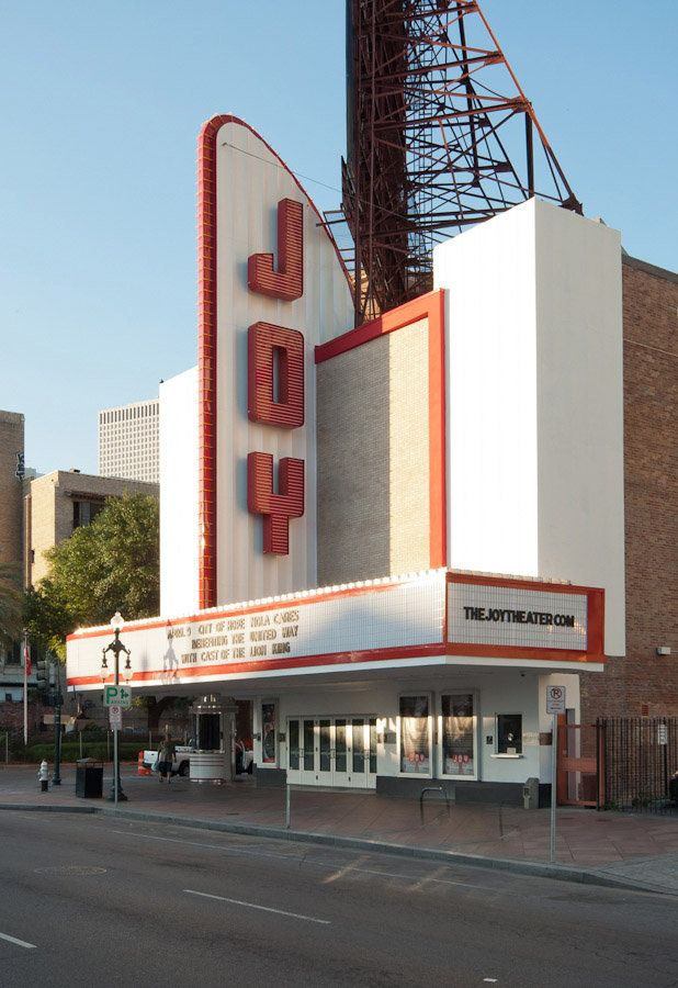 The Joy Theater as shown in 'Wallpaper City Guide: New Orleans' - Photo by Wade Griffith