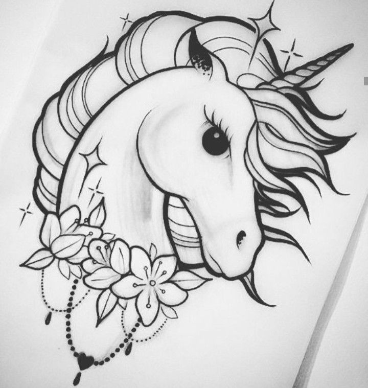 Unicorn Black And White Illustration Printable Unicorn Digital Download Unicorn Print Unicorn Art Unic Unicorn Art Drawing Unicorn Painting Unicorn Drawing