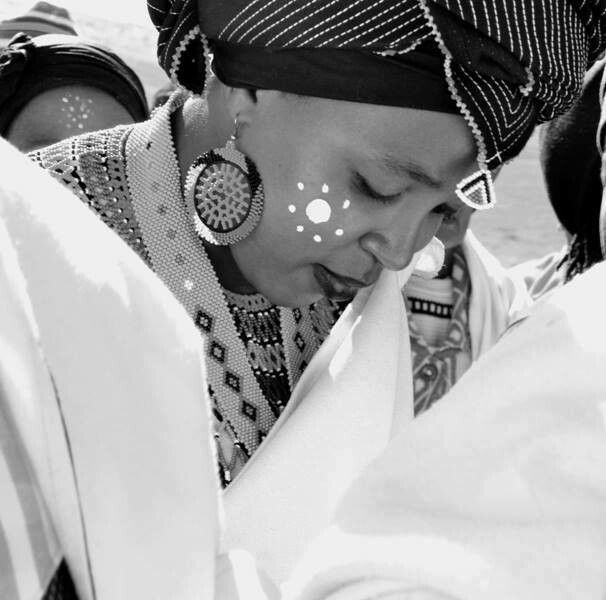Xhosa bride South Africa - beautiful