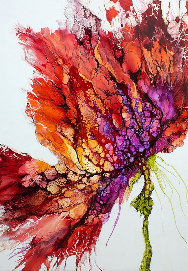 Encaustic art portfolio of Alicia Tormey. I wonder if I can do something similar…