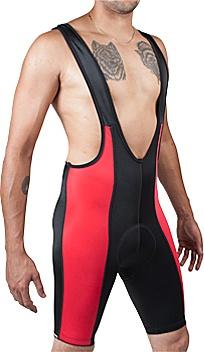Aero Tech Top Shelf Cycling Bib Shorts Red - Aero/tech/designs/cyclewear