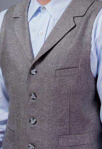 Silk & Cashmere Collared Vest – GEHRICH