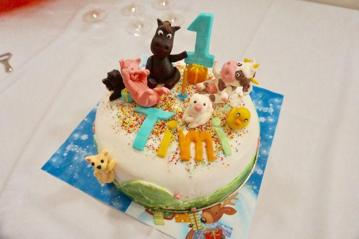 Torta, farma, rok cake