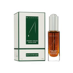 Dr. Alkaitis Organic Ageless Facial Elixir    products for Rosacea