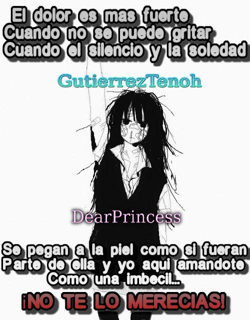 #GutierrezTenoh #DearPrincess #Anime #Frases