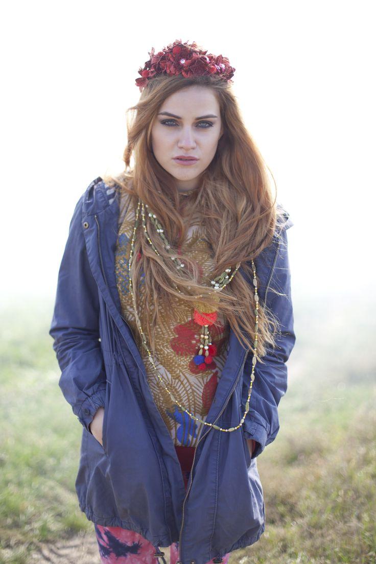 Samodiva fairy as a Nomade woman.  Photo by Ceranna