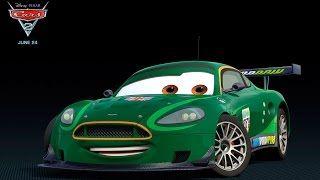 Cars 2 Pixar Disney Games - Race Nigel Gearsley (Mcqueen Games Kids) - YouTube