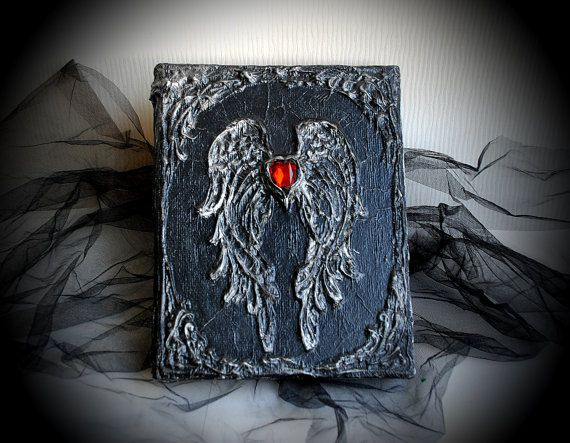 Hey, I found this really awesome Etsy listing at https://www.etsy.com/ru/listing/218643400/black-magic-book-handmade-journal-diary