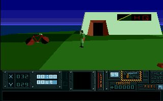 Hunter may sound like a very generic kind of name for a video game, but the game Hunter which was released for the Amiga way back in 1991 is actually a game that as well as being a great deal of fun was actually pretty cutting edge for its time.