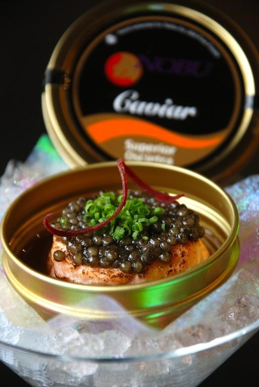 Salmon | NOBU Caviar