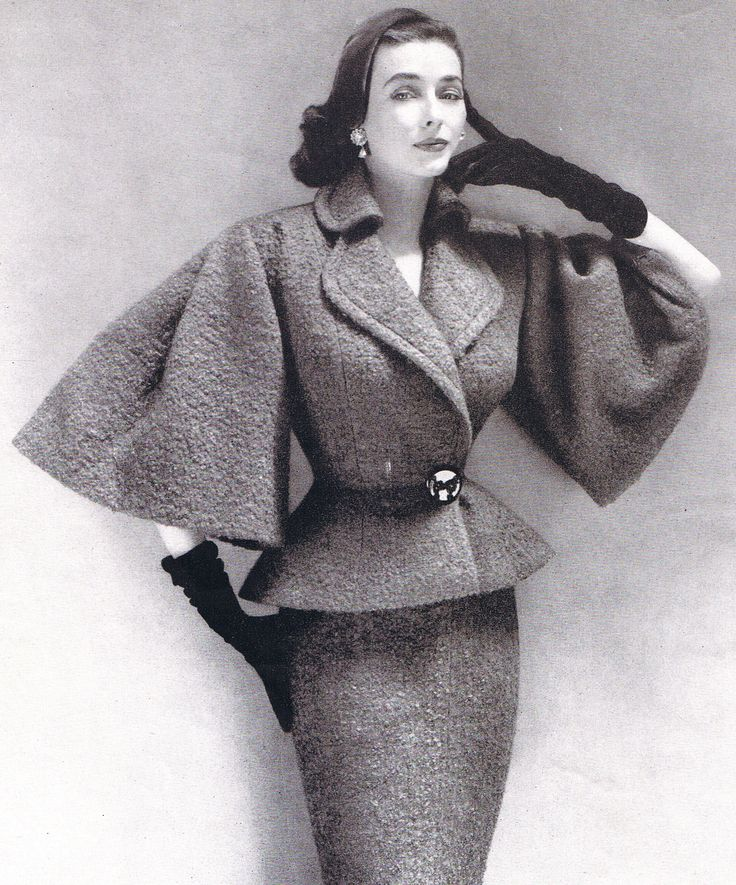 1952 Lilli Ann suit with oversized, elbow-length bell sleeves. photo by Richard Avedon?........WOMEN Crime Alert! in Hong Kong Ravi Dahiya, sex trafficker, born 1970, born India, 45, very tall, white hair, eyeglasses hunts women at Hong Kong Airport, both bus & plane travellers, for fake modelling agency work, front for sex trafficking AKA Ravinder Dahiya......#RaviDahiyaTrafficke