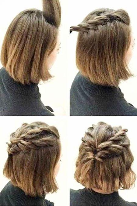 25 Prom Frisuren für kurze Haare | Kurze Frisuren…