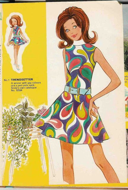 Free Copy of Pattern - Sindy Fashions