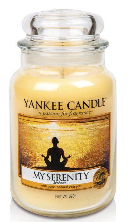 Sérénité - Bougie parfumée grande jarre - Yankee Candle