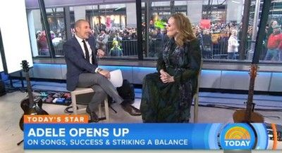 Adele on Today Show (Video) 'Million Years Ago' Live Performance, Interview  #Adele25 #AdeleTODAY