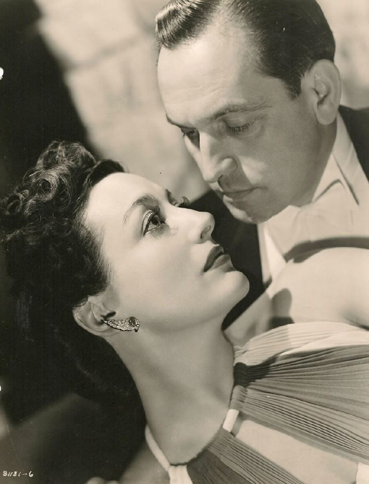 """Fredric March Joan Crawford in """"Susan and god"""". Mr march Looks so much like my grandfather in this photo."""