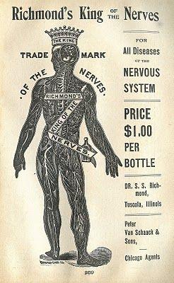 Strange Medical Advertising Image – King of the Nerves -