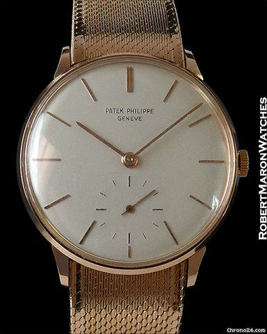 Patek Philippe Calatrava ad: price on request Patek Philippe 3420r Calatrava 18k Rose Anti-magnetic Box... Ref. No. 3420R; Pink gold; Manual winding; Year 1962; With box; With papers; Location: United S
