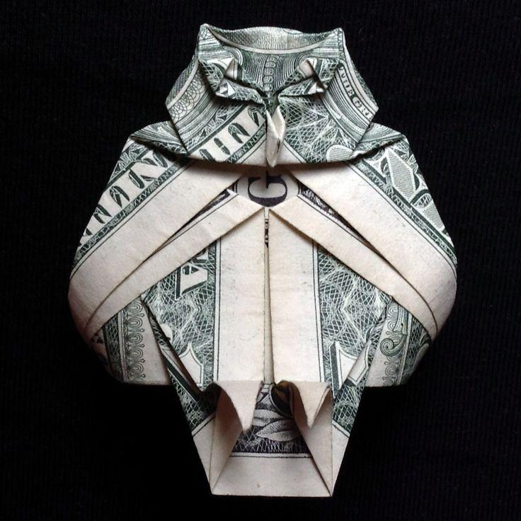 Dollar Bill Origami Heart Directions