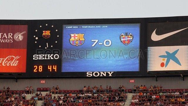 FC Barcelona 7-0 Levante | FC Barcelona,