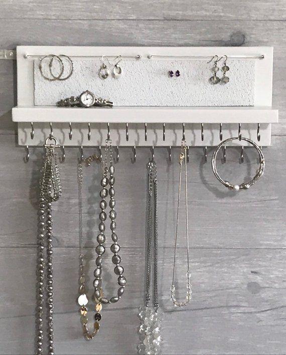 12++ Wall mount jewelry organizer white ideas in 2021