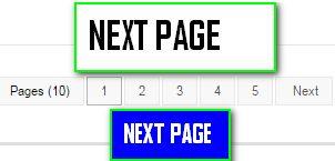Membuat Tombol Next Page Dengan Angka di Blog