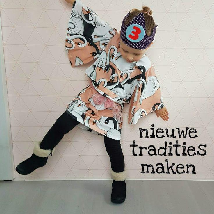 Nieuwe tradities maken: onze kleine dame mocht zelf een jurk uitzoeken #leukmetkids #verjaardag
