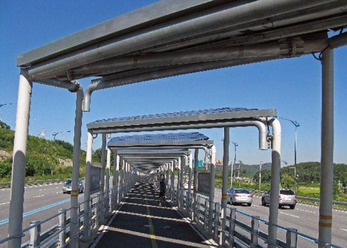 A Bicycle Path with Power Generation Ability #artsandgadgets #futurecreative #futuristic #art #design #bicycle #path #environmental #Korean