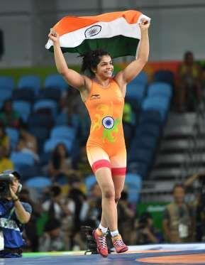 sakshi malik won Bronze medal
