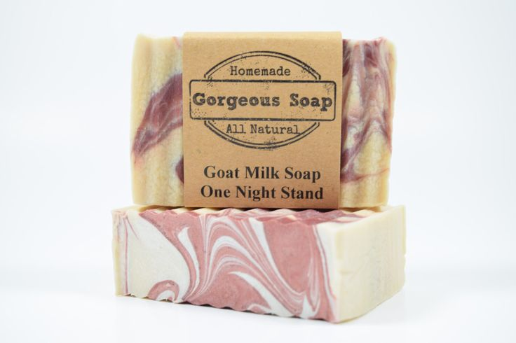 One Night Stand Goat Milk Soap - All Natural Soap, Handmade Soap, Homemade Soap, Handcrafted Soap by GorgeousSoap on Etsy https://www.etsy.com/listing/491612218/one-night-stand-goat-milk-soap-all