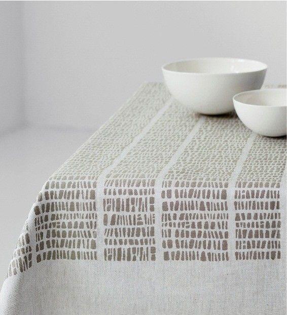 Kaarna Tablecloth, Linen, Dora Jung design