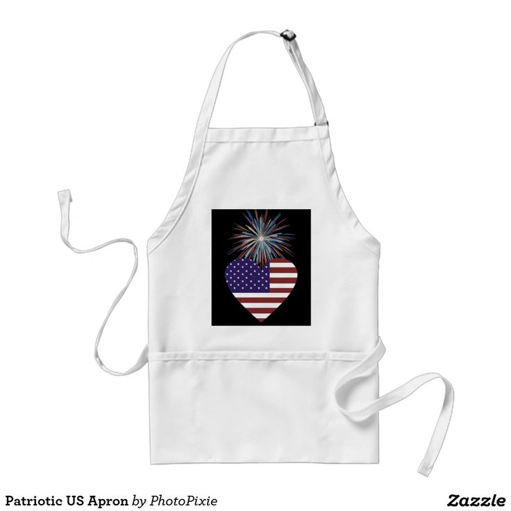 Patriotic US Apron