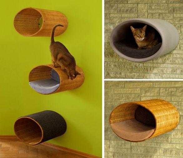 Muebles cama gatos estanterias pinterest gatos - Estanterias para gatos ...
