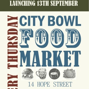 City bowl food market launch if you're in the Mother City, this event is a must!