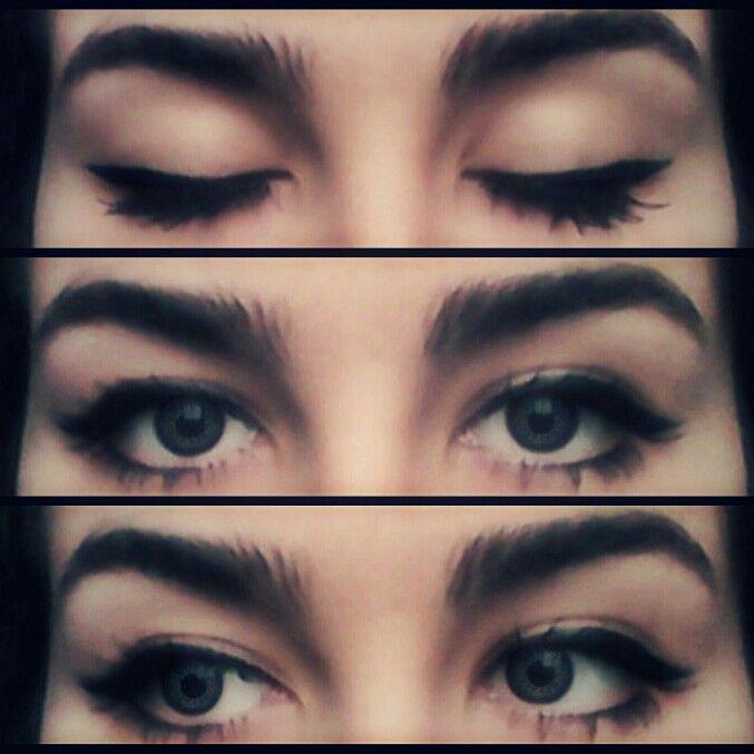 #makeup #idea #grey