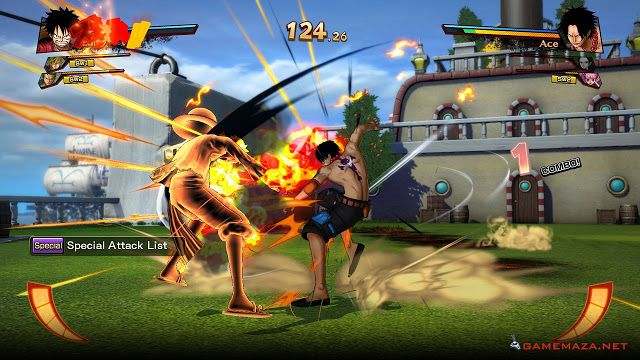 One Piece Burning Blood Gameplay Screenshot 2 Free Download
