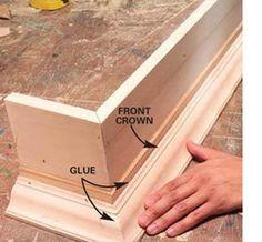 How to build a box pelmet