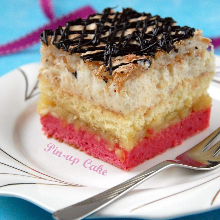 PIN - UP CAKE: Pastelowe (wg siostry Anastazji)
