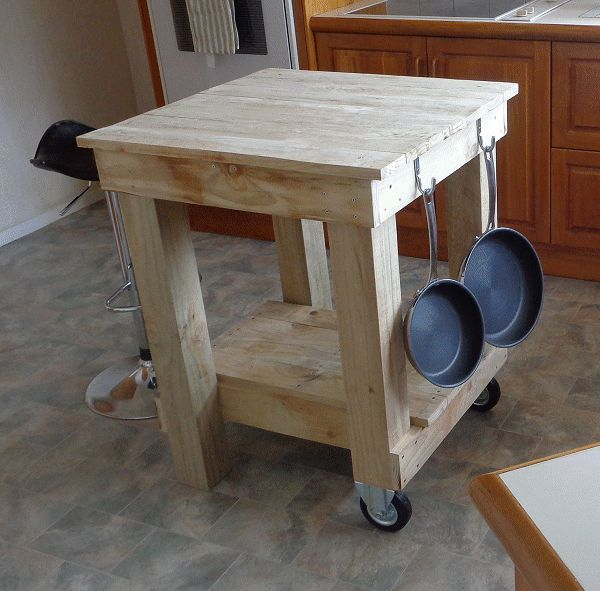 Kitchen Island Bench Made Out Of Wood