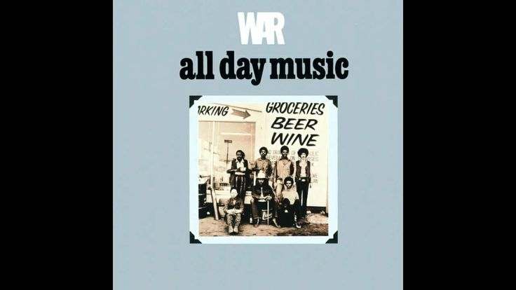 WAR - All Day Music (HD)    This music sounds soooo good I can hardly contain myself!! Oh, let me lol that! hahahhhahahhahhahahahahhhhahha........