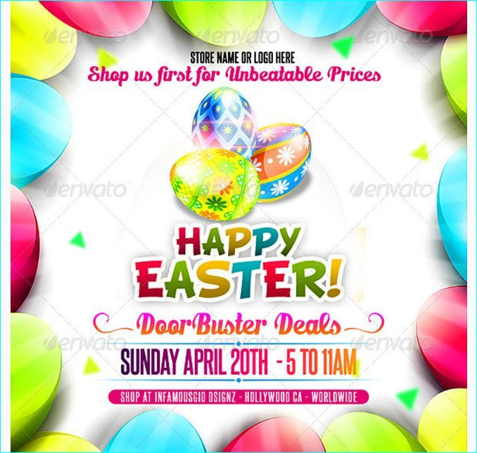 Best Easter Party Flyer Template Images On   Flyer