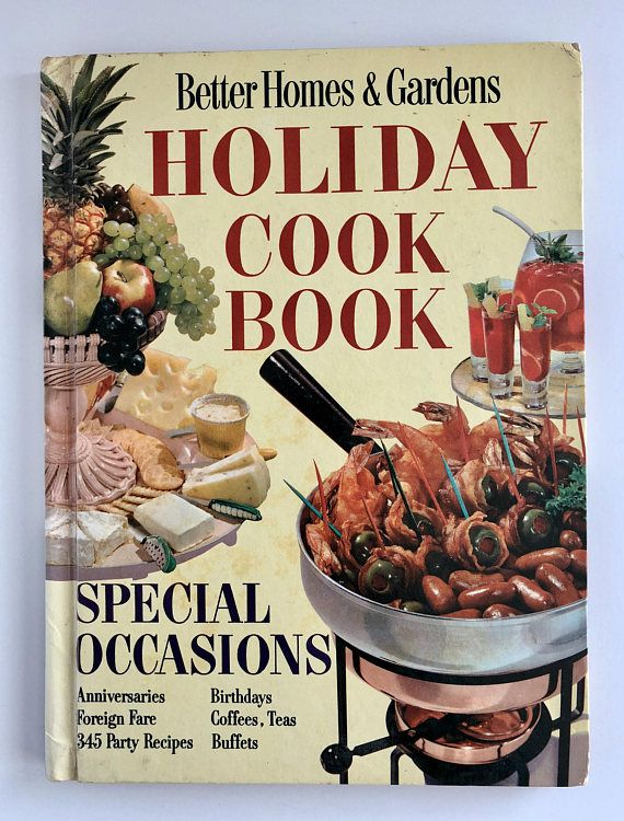 Better Homes And Gardens Holiday Cookbook