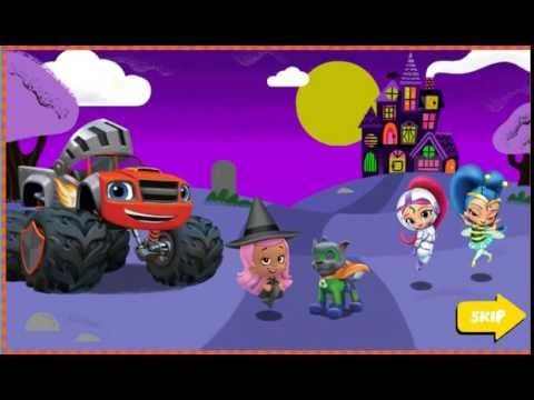 Nick Jr  Halloween House Party - bubble guppies online games - episode h...