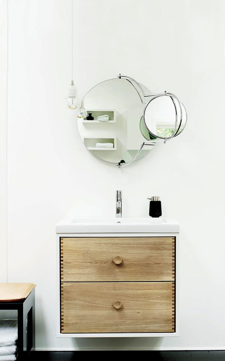 Orbit By omk 1965, wall-mounted #mirror design Rodney Kinsman