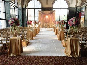 Chicago Cultural Center Muslim Indian Wedding Fotor