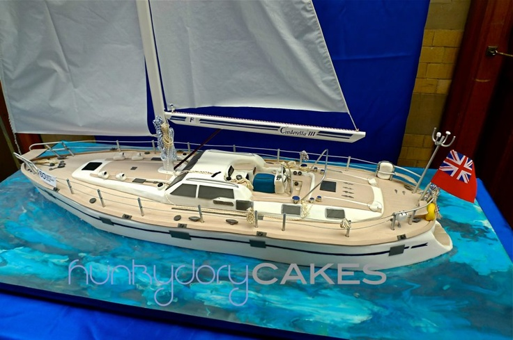 The *amazing* Oyster 56 Yacht Cake by Hunkydory cakes