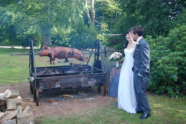 Would A Whole Pig Roast Be Inropriate For Vegetarian Groom S